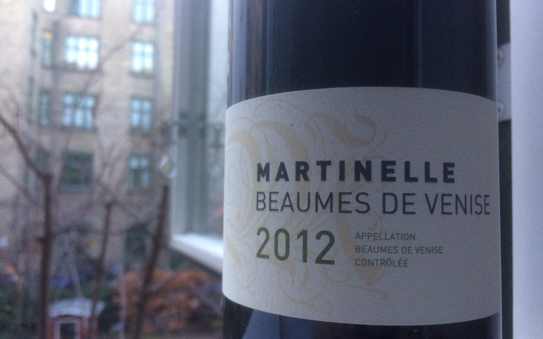 Ugens Vin – økologisk rød AOC Beaumes-de-Venise fra Domaine la Martinelle