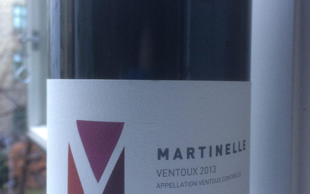 Ugens Vin – økologisk rød AOC Ventoux fra Domaine la Martinelle