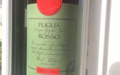 Ugens Vin – økologisk rød italiener fra Puglien