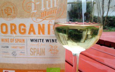 Ugens Vin – hvid økologisk spanier på dunk
